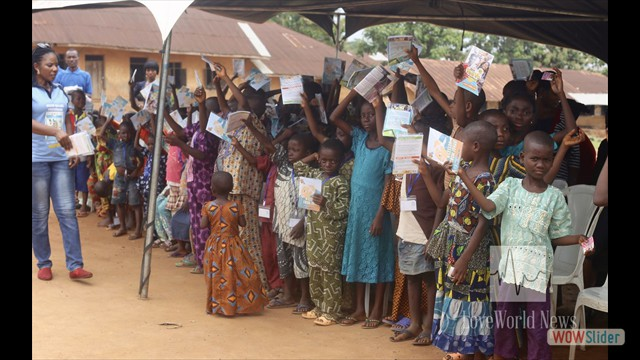 Ministry Materials Distributed To The Kids
