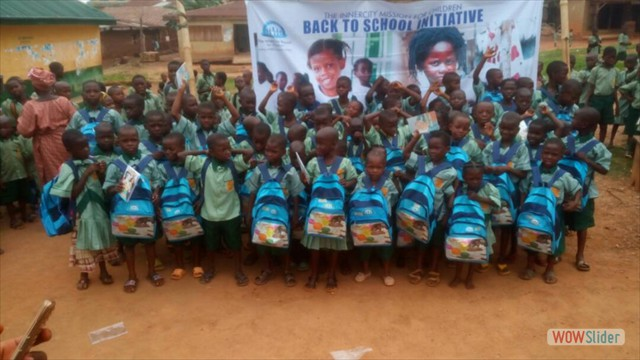 Some of the Kids Sponsored Back To School