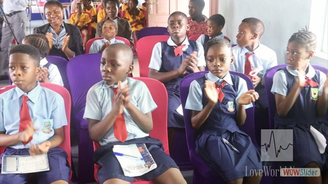 Cross section of Pupils at Science Competition