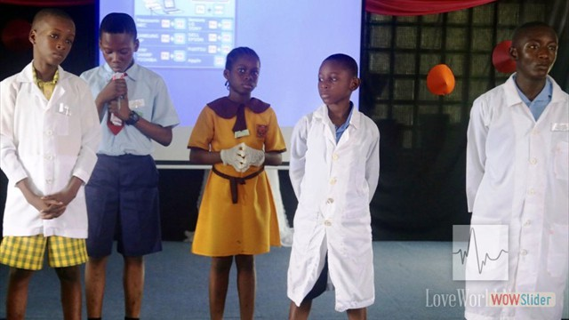 Contestants for the Practical Science Competition