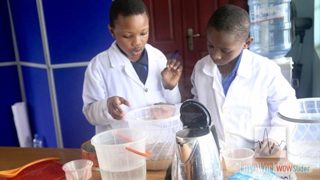 Pupils Carrying Out An Experiment
