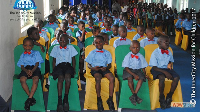 View of Pupils at Event