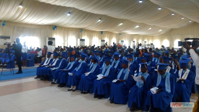 View of Graduating Pupils